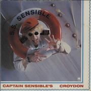 Click here for more info about 'Captain Sensible - Croydon - P/S'