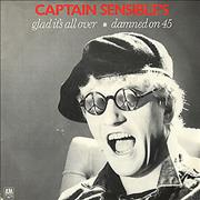 Click here for more info about 'Captain Sensible - Glad It's All Over - P/S'