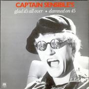 Click here for more info about 'Captain Sensible - Glad It's All Over'