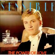 Click here for more info about 'Captain Sensible - The Power Of Love - Promo Stamp'