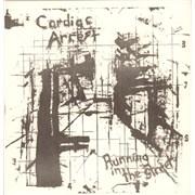 "Cardiac Arrest Running In The Street UK 7"" vinyl"