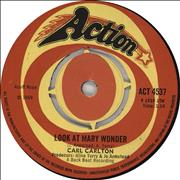 Click here for more info about 'Carl Carlton - Look At Mary Wonder'