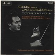 Click here for more info about 'Carlo Maria Giulini - Giulini Conducts Love The Magician (Falla) With Victoria De Los Angeles'