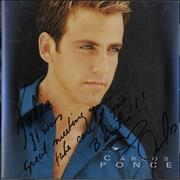 Click here for more info about 'Carlos Ponce - Todo Lo Que Soy - Autographed'
