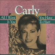 Click here for more info about 'Carly Simon - All I Want Is You'