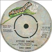 Click here for more info about 'Carly Simon - Attitude Dancing'