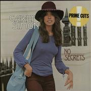 Click here for more info about 'Carly Simon - No Secrets - red label'