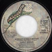 Click here for more info about 'Carly Simon - Nobody Does It Better - JB Credit'