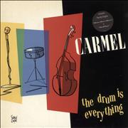 Carmel The Drum Is Everything UK vinyl LP