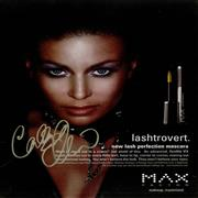 Click here for more info about 'Carmen Electra - Max Factor Advert - Signed Magazine Page'
