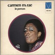 Click here for more info about 'Carmen McRae - In Person'