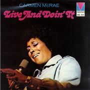 Click here for more info about 'Carmen McRae - Live And Doin' It'