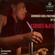 Click here for more info about 'Carmen McRae - London's Girl Friends No.3'