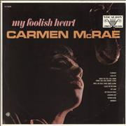 Click here for more info about 'Carmen McRae - My Foolish Heart'