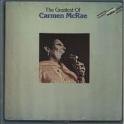 Click here for more info about 'Carmen McRae - The Greatest Of Carmen McRae'