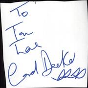 Click here for more info about 'Carol Decker - Autograph'