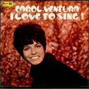 Click here for more info about 'Carol Ventura - I Love To Sing!'