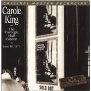 Carole King The Carnegie Hall Concert - 180gram Vinyl - EX USA 2-LP vinyl set