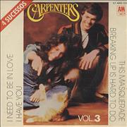 Click here for more info about 'Carpenters - 4 Sucessos Vol.3'