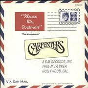 Click here for more info about 'Please Mr Postman'