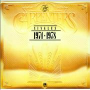 Click here for more info about 'Carpenters - The Singles 1974-1978 - Metallic Gold Sleeve'