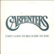 Click here for more info about 'Carpenters - [They Long To Be] Close To You'