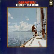 Click here for more info about 'Carpenters - Ticket To Ride'