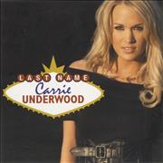 Click here for more info about 'Carrie Underwood - Last Name'