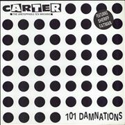 Click here for more info about 'Carter USM - 101 Damnations - Hype sticker'