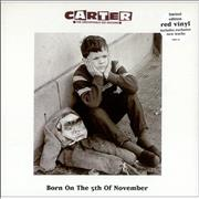 Click here for more info about 'Carter USM - Born On The 5th Of November - Red Vinyl'