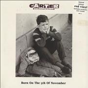 Click here for more info about 'Carter USM - Born On The 5th Of November'
