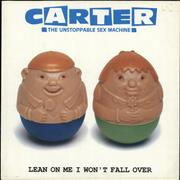 Click here for more info about 'Carter USM - Lean On Me I Won't Fall Over'