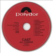 Click here for more info about 'Cast - All Change'
