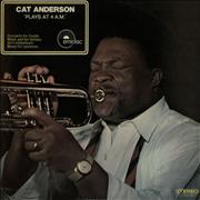 Cat Anderson Cat Anderson Plays At 4 a.m. France vinyl LP