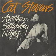 Click here for more info about 'Cat Stevens - Another Saturday Night - P/S'
