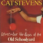 Click here for more info about 'Cat Stevens - (Remember The Days Of The) Old School Yard - P/S'