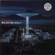 Click here for more info about 'Catatonia - Mulder And Scully - Blue Vinyl'