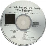 Click here for more info about 'Catfish And The Bottlemen - Balcony + PR'