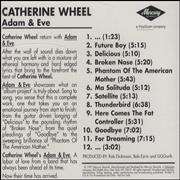 Click here for more info about 'Catherine Wheel - Adam & Eve'