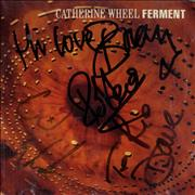 Click here for more info about 'Catherine Wheel - Ferment - Autographed'