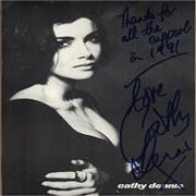 Click here for more info about 'Cathy Dennis - Signed Print'