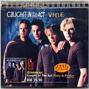 Caught In The Act Vibe + diary/poster Malaysia CD album