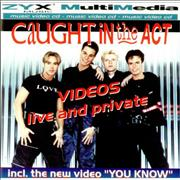 Caught In The Act Videos - Live & Private Germany Video CD