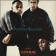 Caveman Positive Reaction UK vinyl LP