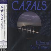 Cazals What Of Our Future Japan CD album Promo