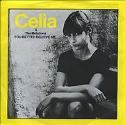 Click here for more info about 'Celia & The Mutations - You Better Believe Me'