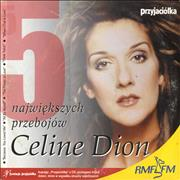 Celine Dion 5 Song Sampler Poland CD single Promo