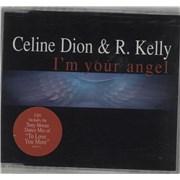 Celine Dion I'm Your Angel UK CD single