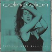 Celine Dion Love Can Move Mountains USA CD single