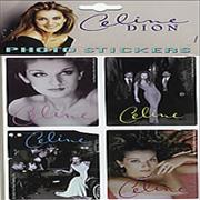 Click here for more info about 'Celine Dion - Set of 4 Photo Stickers'